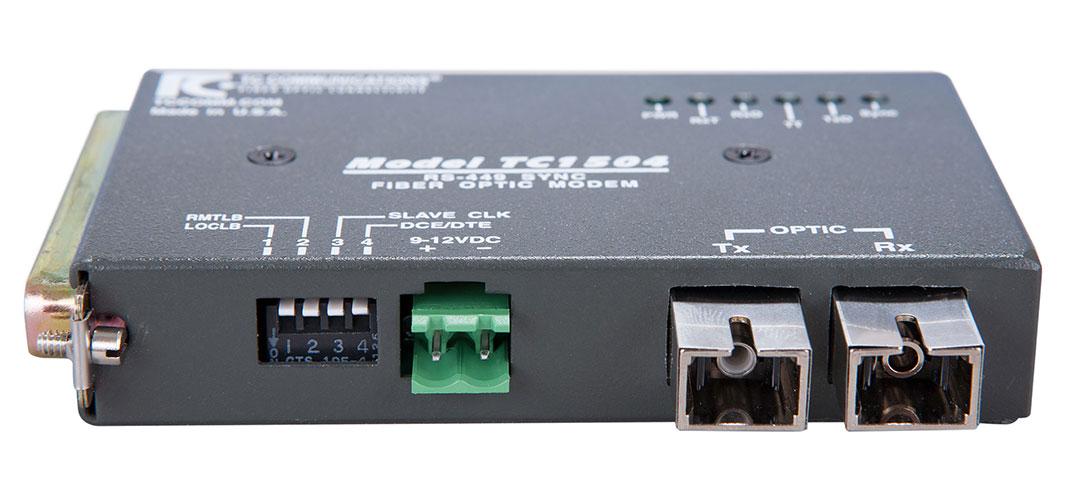 Tc1504 Synchronous Rs 422 449 Fiber Optic Modem Tc