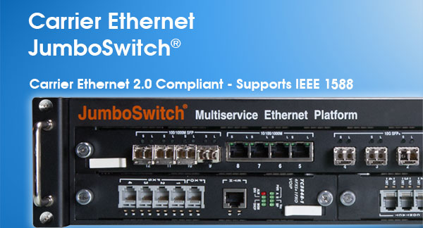 Introducing the 10G JumboSwitch®