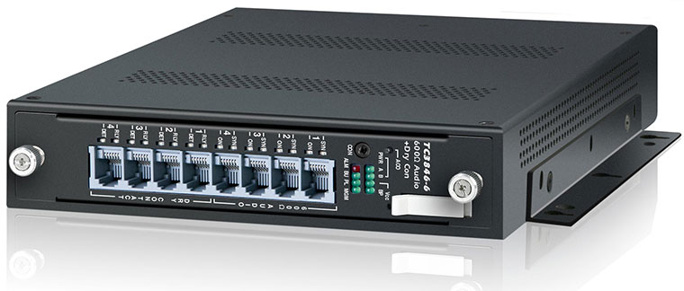 Analog and Dry Contact over IP Gateway Product Update Lets User Control Port Bandwidth